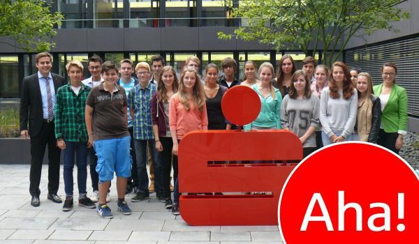 Sommerakademie bei der Sparkasse Krefeld