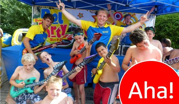 "Pool-Party im Schwimmbad ""De Bütt"" in Willich"