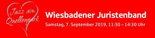 Jazz am Quellenpark<br/>Wiesbadener Juristenband