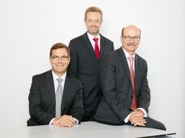 Der Vorstand der Kreissparkasse Ludwigsburg